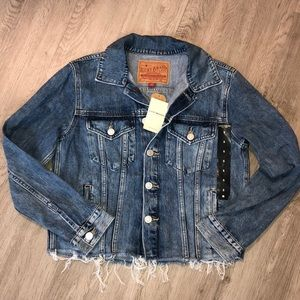 Lucky Brand Jeans Jacket. Size Small. Brand New WT